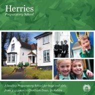 Click to see our Prospectus - Herries Preparatory School