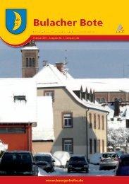 Bürgerverein Bulach e. V. - KA-News