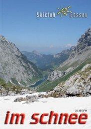 Ausgabe 2 vom 2013/14 - Skiclub Gossau