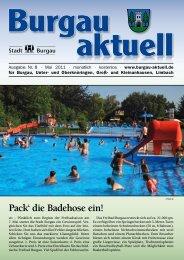 Pack' die Badehose ein! - Stadt Burgau