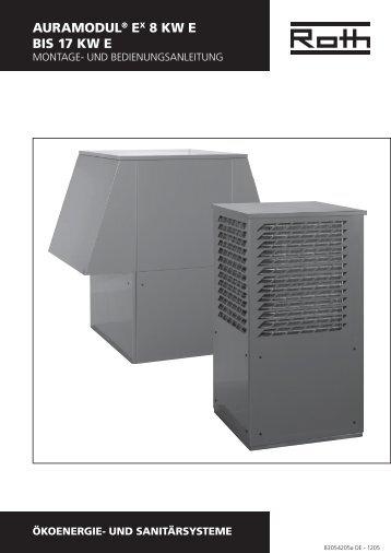 Wärmepumpe AuraModul 8 - 17 kW E - Roth Werke