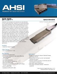 download pdf - Amphenol High Speed Interconnects