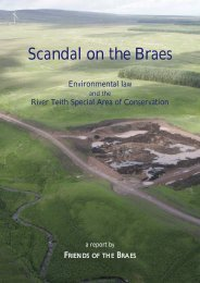 Scandal on the Braes - Industrial Wind Action Group