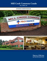 Mill Creek Commons Condo