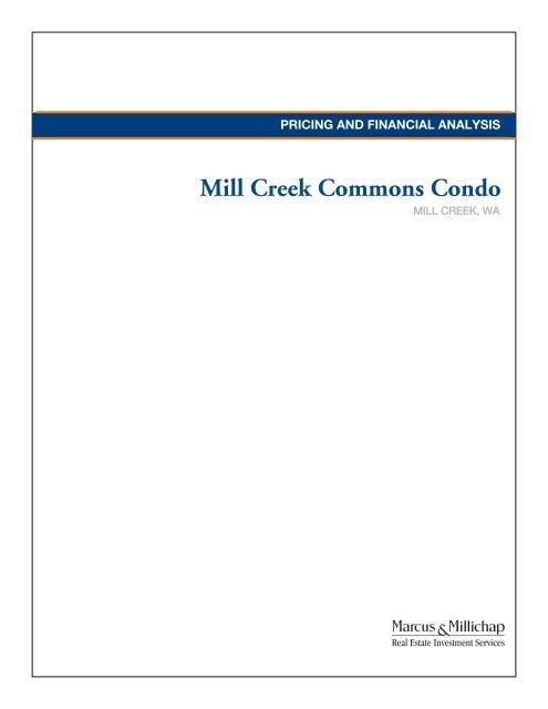 Mill Creek Commons Condo