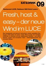 Fresh, host & easy – der neue Wind im LUCE