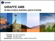 GIRAFFE AMB Presentation - Saab