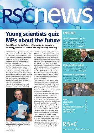 NEWS - Royal Society of Chemistry