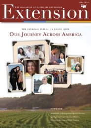 OUR JOURNEY ACROSS AMERICA - Catholic Extension