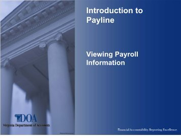 payline doa virginia gov login Paylines Magazines
