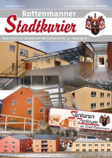 Stadtkurier März 2009 - Rottenmann