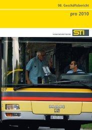 pro 2010 - Verkehrsbetriebe STI