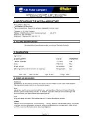 MATERIAL SAFETY DATA SHEET FOR: EASYTILE 1 ... - All Fasteners