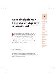 Geschiedenis van hacking en digitale criminaliteit - Van Duuren Media