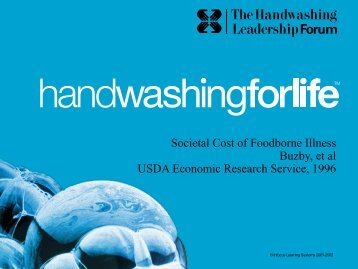 costs - Handwashing for Life Foodservice