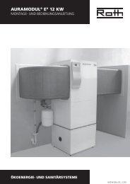 Wärmepumpe AuraModul 12 kW - Roth Werke