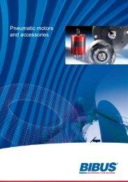 Pneumatic motors and accessories - Bibus
