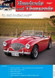 """""""A full bodied red?"""" - Austin Healey Owners Club"""