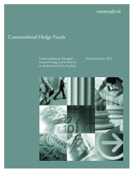 Commonfund Hedge Funds