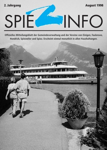 08august spiezinfo98 - in Spiez