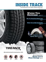 Winter Tire Showcase - Tire Rack