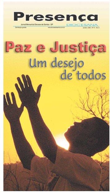 Jornal Mensal da Diocese de Santos - SP - Unisantos