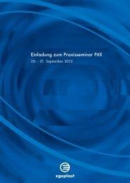 Einladung zum Praxisseminar FttX - Egeplast