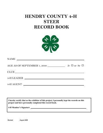 C:\My Documents\Sonja\4-H\RECORD BOOK\Record Books\Steer8 ...