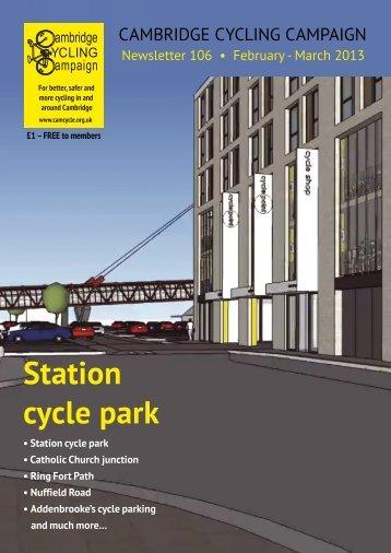 Station cycle park - Cambridge Cycling Campaign