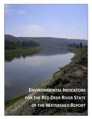 indicator report - Red Deer River Watershed Alliance