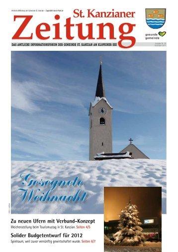 Gesegnete Weihnacht Gesegnete Weihnacht - Gemeinde St. Kanzian