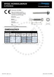 CE-200087 Bygg och konsolskruv - Gunnebo Industries