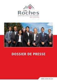 DOSSIER DE PRESSE - Agence MCM