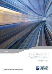Future Benefit Trust - Friends Life