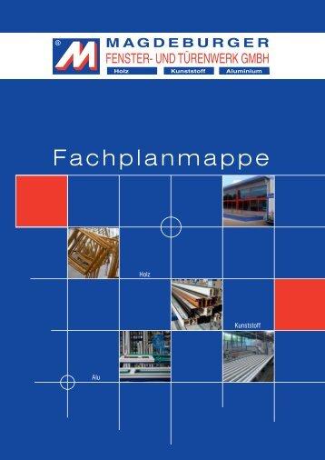 Fachplanermappe Holz - Magdeburger Fenster