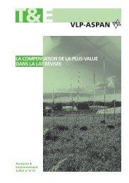 La compensation de la plus-value dans la loi révisée sur ... - vlp-aspan