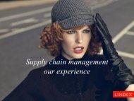 Supply chain- Management Lindex