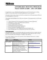 AHP Next Steps Manual (PDF) - Federal Home Loan Bank of Boston