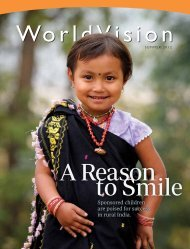 Summer 2012 - World Vision