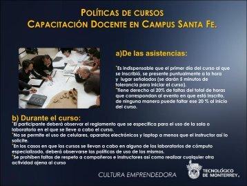 Políticas de Capacitación - Santa Fe