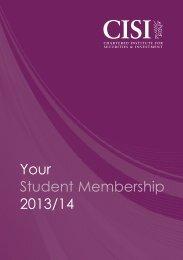 Your Student Membership 2013/14