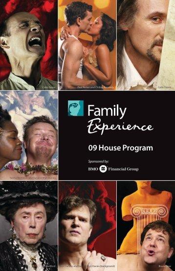 09 House Program - Stratford Festival