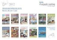 Shopping Guide - Ipm-Verlag