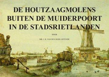 De molens in de Stadsrietlanden - theobakker.net