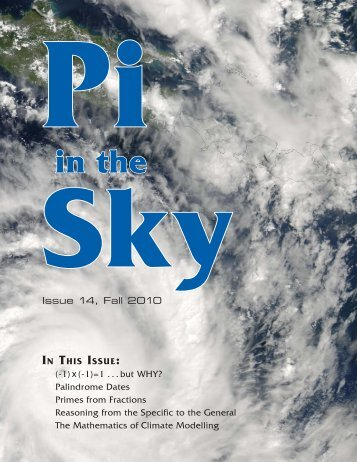 Pi in the Sky - Canadian Mathematical Society