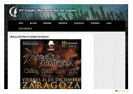 Angelus Apatrida este viernes en Zaragoza | El Lado ... - SALA LÓPEZ