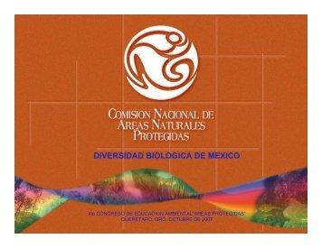DIVERSIDAD BIOLOGICA DE MEXICO