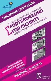FORTBEWEGUNG FORTSCHRITT - European Mobility Week