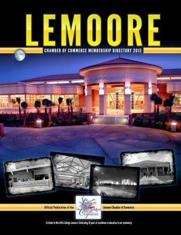 2013 Lemoore Chamber Directory - Lemoore Chamber of Commerce