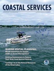 Coastal Services Magazine - Sea Grant College Program